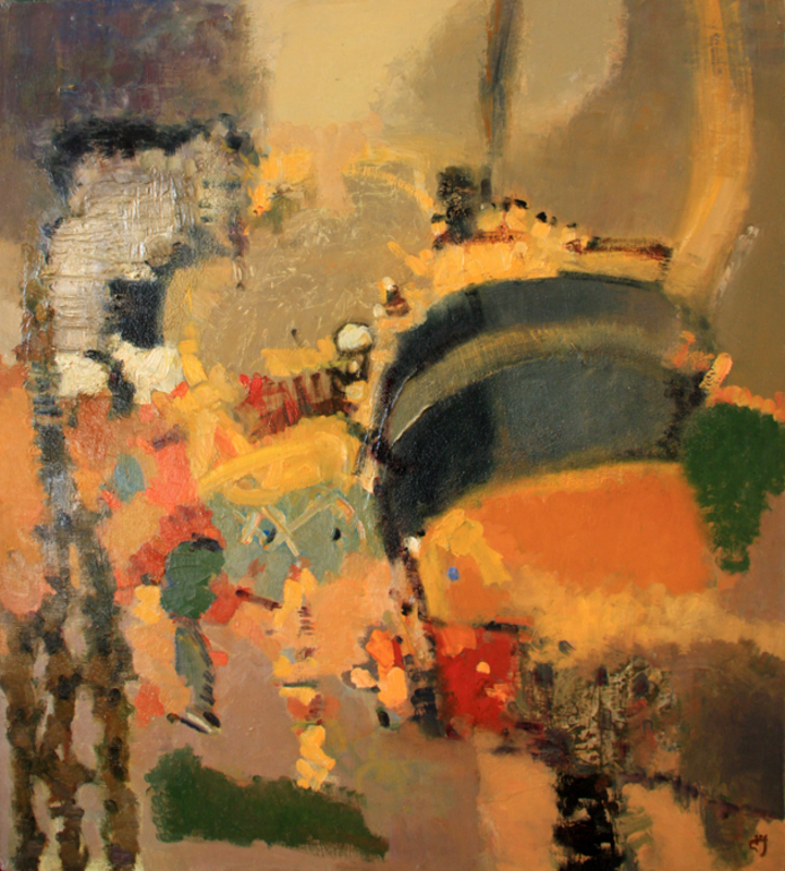Levan URUSHADZE - Pittura - Composition # 82