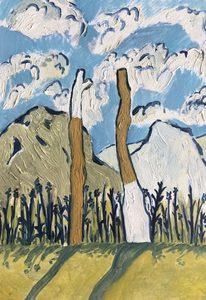 Martin FAURE - Painting - «Boléro d'automne printanier»