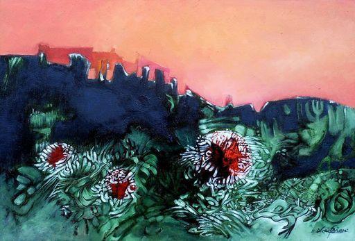 Lou FLORIAN - Painting - Castel carnivore