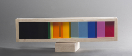 Yaacov AGAM - Scultura Volume - Infinty transparency #3