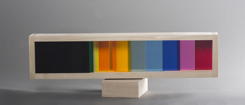 Yaacov AGAM - Sculpture-Volume - Infinty transparency #3