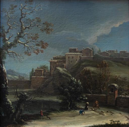 Vincenzo MARTINELLI - Gemälde - Winter landscape