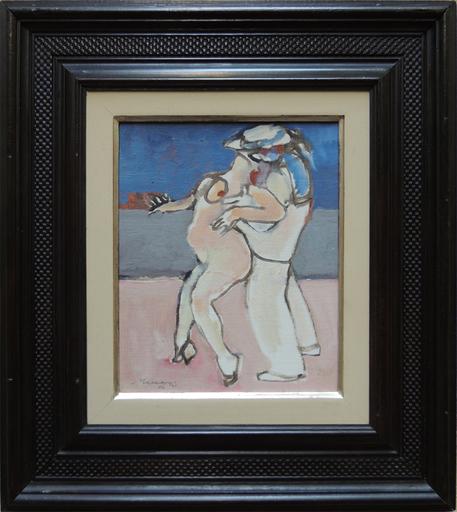 Mino MACCARI - Pintura - Il marinaio