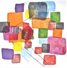 Bertille DE BAUDINIERE - Peinture - Harlem 7. Le Ballon Rouge