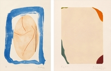 Helen FRANKENTHALER (1928-2011) - Sky Frame Orbit/ Weather Vane