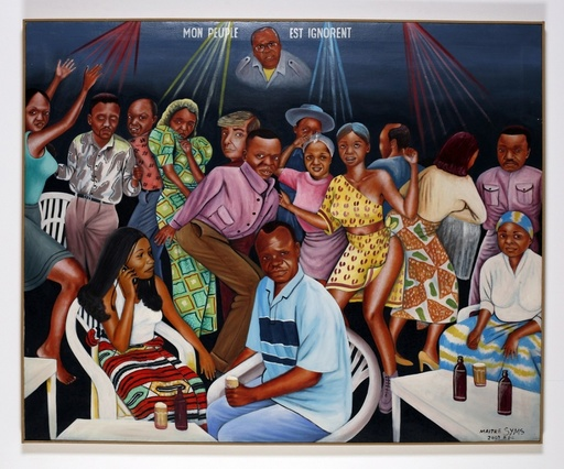 MAÎTRE SYMS - Peinture - Mon peuple est ignorent