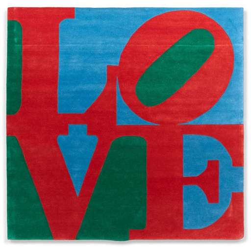Robert INDIANA - Tapisserie - Classic Love