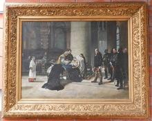 Carl Gabriel WADELL - Painting - Last Rites