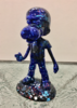 Michel SOUBEYRAND - Skulptur Volumen - Boy dog bleu