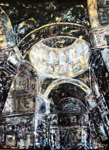 AMEY - Painting - Saint isaac