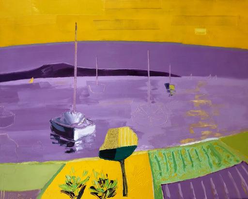 Jean-Pierre MALTESE - Pintura - Parme d'un jour