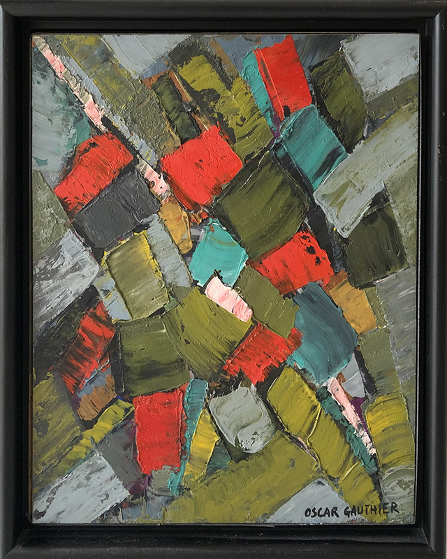 Oscar GAUTHIER - Painting - Abstract CC-ZDQ