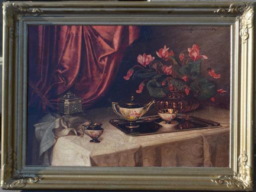 Ignaz I SCHÖNBRUNNER - Painting - Still-life
