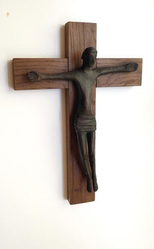 Gerhard MARCKS - Sculpture-Volume - Kleines Kruzifix IV
