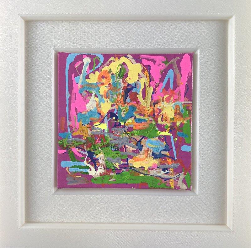 Nicole LEIDENFROST - Gemälde - Dream in Pink
