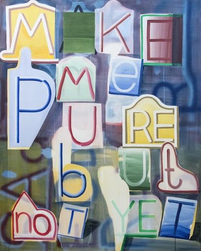 Graham GILLMORE - Painting - Make Me Pure