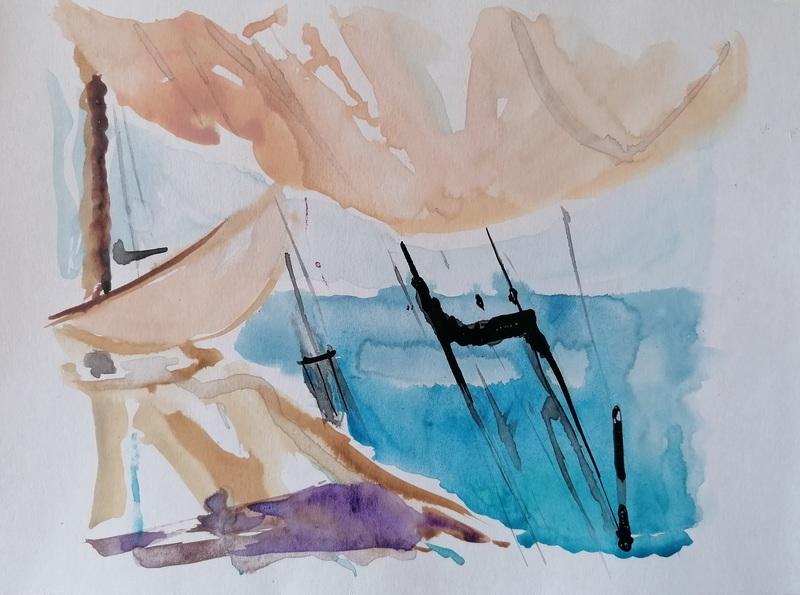 Diana KIROVA - Drawing-Watercolor - CBG07