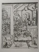 Hermine DAVID - Print-Multiple - Le Restaurant