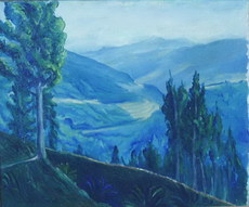 Imeldo CORRAL GONZALES - Pintura - valle