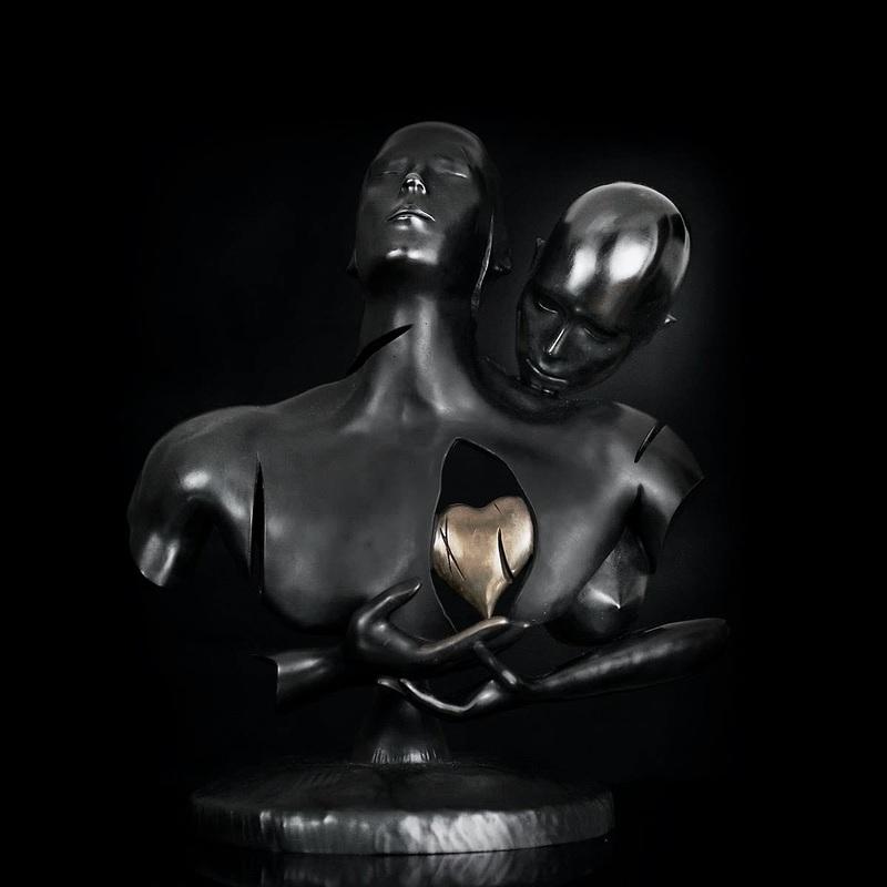 Franck KUMAN - Sculpture-Volume - Generosity