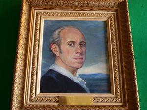 Manuel ALVAREZ DE LA PUEBLA - Pintura - Autorretrato