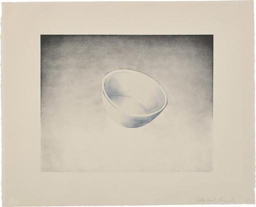 爱德华•鲁沙 - 版画 - Domestic Tranquility: Bowl