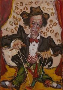 William FENECH - Peinture - le marionnettiste