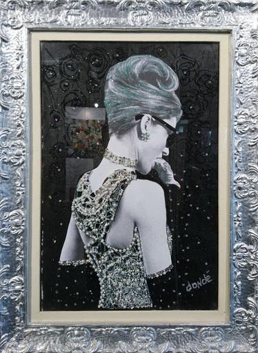 Daniele DONDE - Peinture - Audrey Hepburn