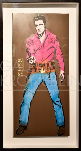BAMBI - Painting - King Elvis