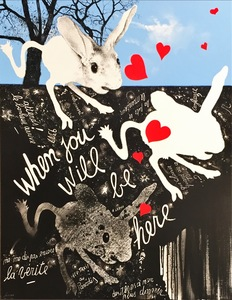 Christian SILVAIN - Peinture - When you will be here