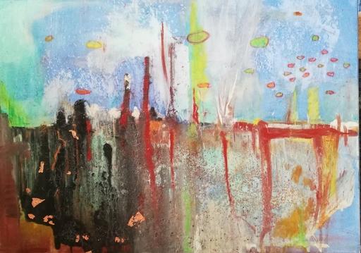 Ewa WITKOWSKA - Gemälde - Cityscape