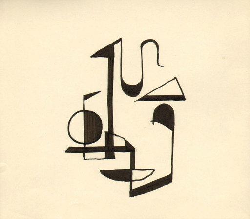 Rudolf MUCHOW - Disegno Acquarello - o.T.