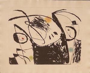 Joan MIRO - Print-Multiple - Serie Mallorca nº X