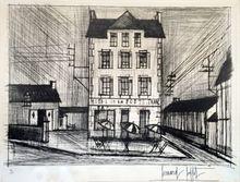 Bernard BUFFET (1928-1999) - HOTEL DE LA POSTE 1965