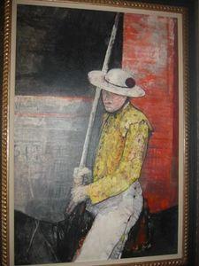 Jean JANSEM - Painting - Le Picador