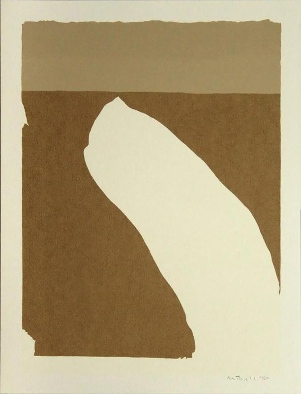 Robert MOTHERWELL - Druckgrafik-Multiple - Untitled