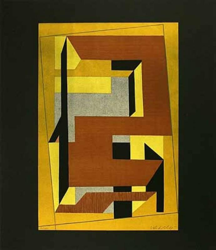 Victor VASARELY - Estampe-Multiple - Gordes Taira