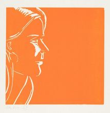 Alex KATZ (1927) - Pink Kim