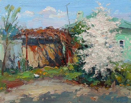 Yuriy DEMIYANOV - Gemälde - en blanc