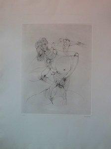 Hans BELLMER - Grabado -  Anatomie de l'image