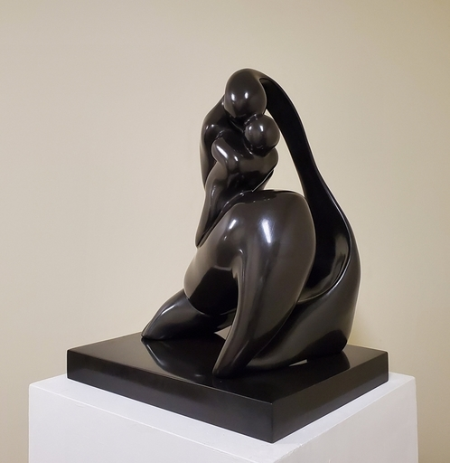 Manuel CARBONELL - Sculpture-Volume - Mother and Child