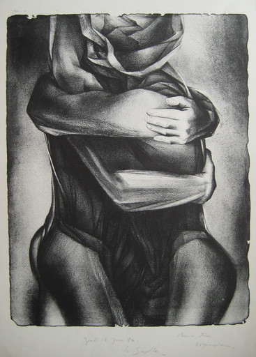Charles Louis LASALLE - Print-Multiple - LITHOGRAPHIE SIGNÉE AU CRAYON NUM HANDSIGNED LITHOGRAPH