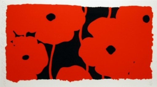 Donald SULTAN - Print-Multiple - Eight Poppies