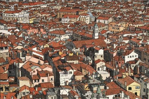 Olivier LAVOREL - Pittura - 1901 - Venise