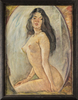 Boris Anatolievich SHOLOKOV - Pittura - Beauty in front of the mirror