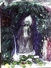 Boris Israelewitsch ANISFELD - Pittura - Goddess of dreams