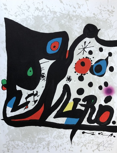 Joan MIRO - Stampa-Multiplo - Untitled