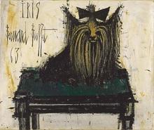 Bernard BUFFET - Peinture - Iris