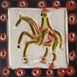 Pablo PICASSO - Keramiken - Cavalier et cheval