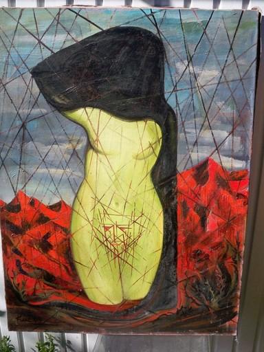 Robert HUE - Peinture - Le complexe d'Oedipe
